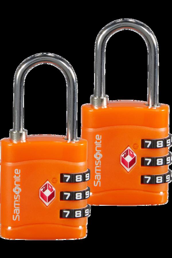 Samsonite Global Ta Combilock 3 dial TSA x2 Oranžová