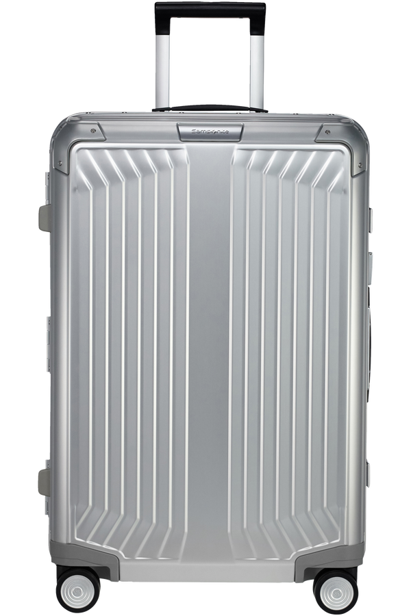 Samsonite Lite-Box Alu Spinner 69cm  Hlíníková stříbrná