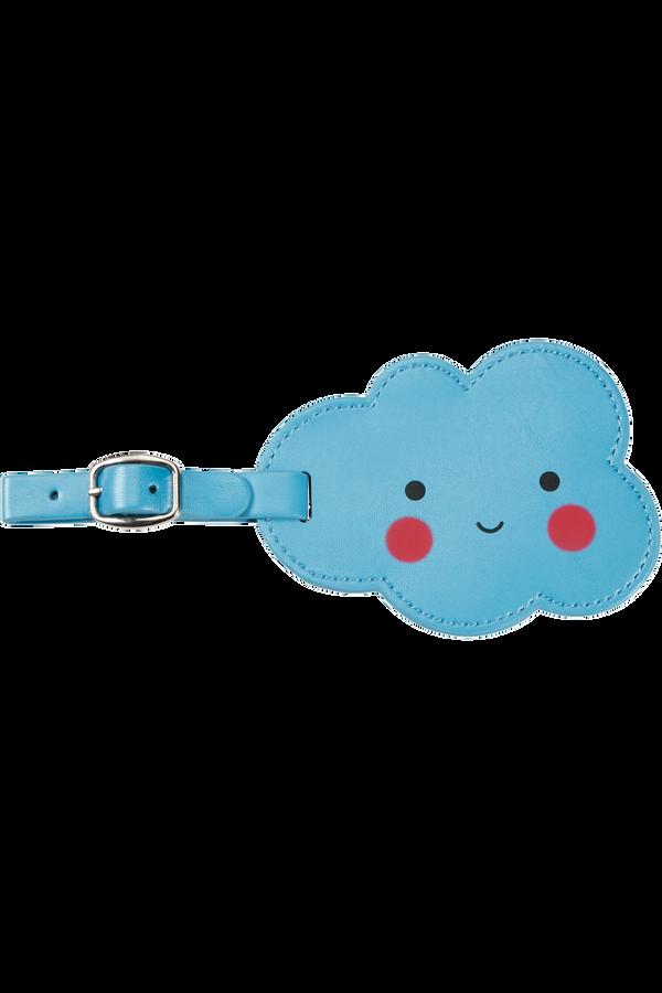 Samsonite Happy Sammies Luggage Tag Cloud  Happy Blue