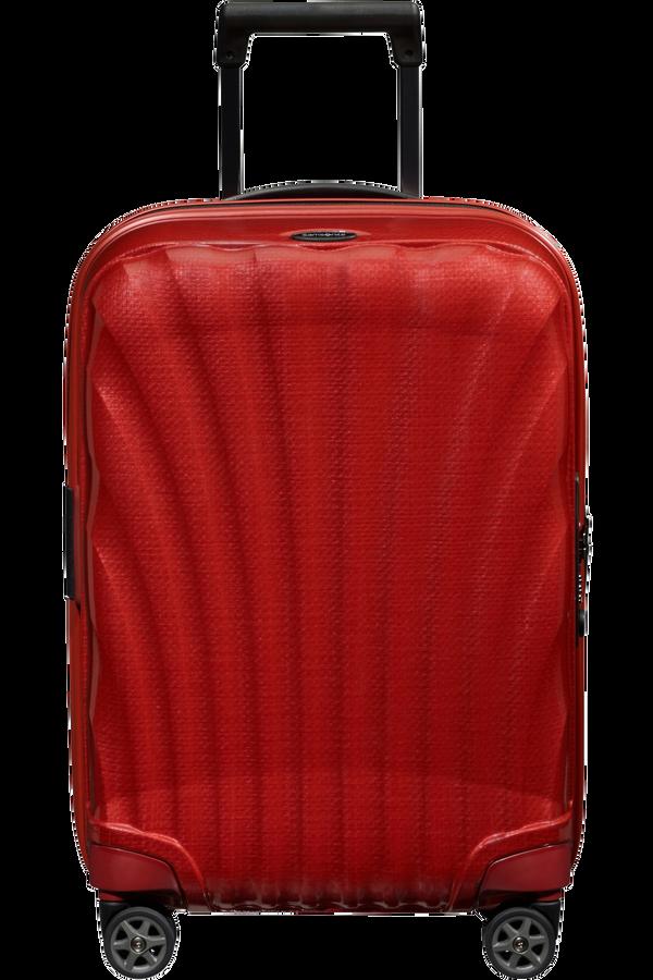 Samsonite C-Lite Spinner Expandable 55cm  Chili červená