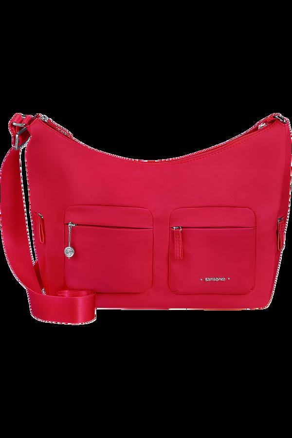 Samsonite Move 3.0 Shoulder Bag + 2 Pockets M  Třešňová červená