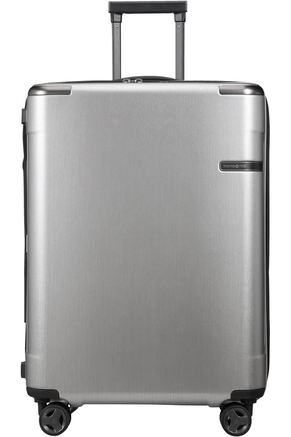 Samsonite Evoa Spinner Expandable 75cm  Brushed Silver