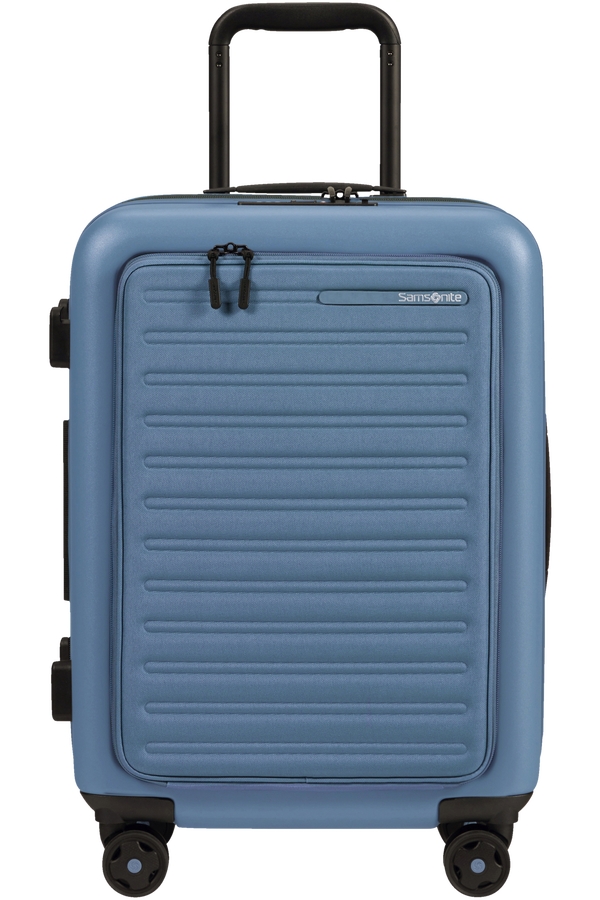 Samsonite Stackd Spinner Expandable Easy Access 55cm  Ocean