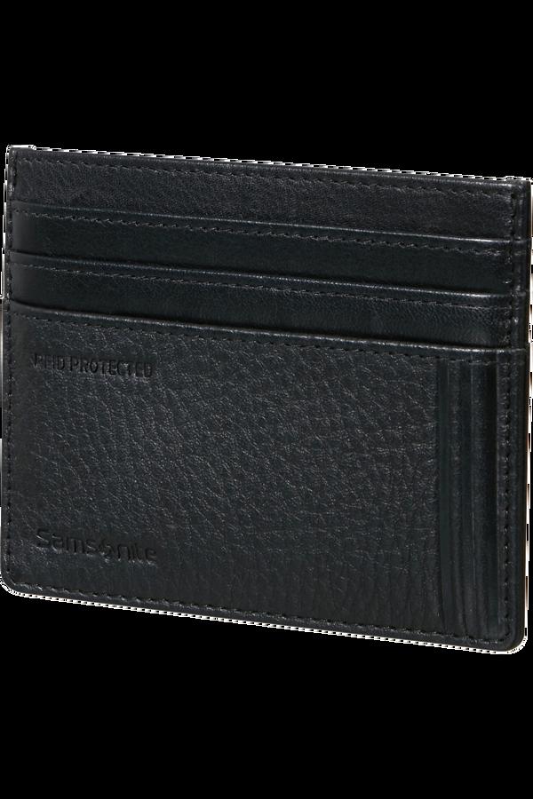 Samsonite Double Leather Slg 732 - 6CC H S  Černá