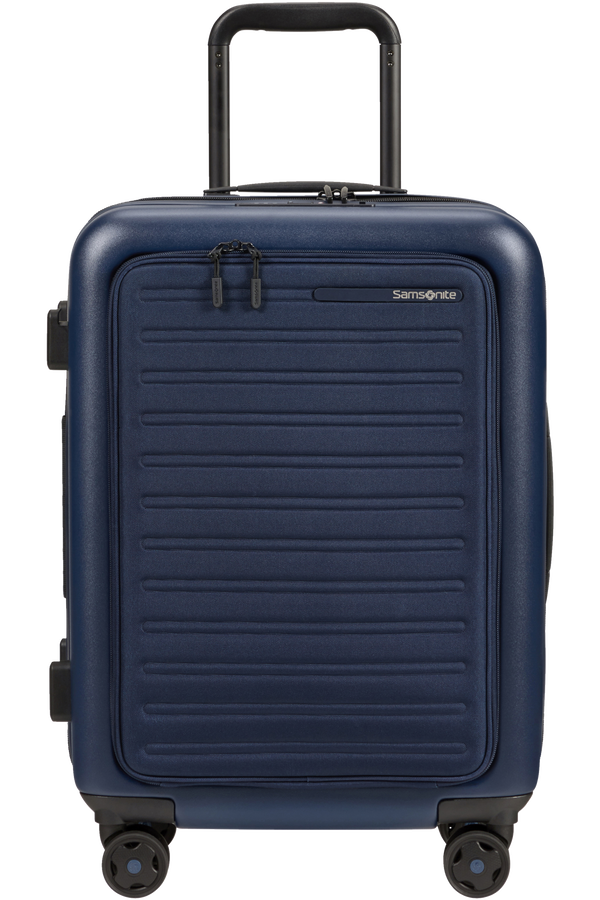Samsonite Stackd Spinner Expandable Easy Access 55cm  Námořní modrá