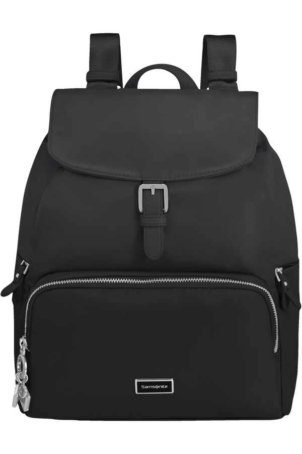 Samsonite Karissa 2.0 Backpack 3 Pockets 1 Buckle  Černá