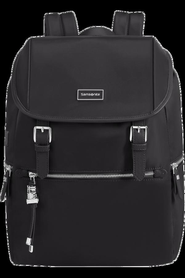 Samsonite Karissa Biz Backpack 14.1'+Flap W/Usb  Černá