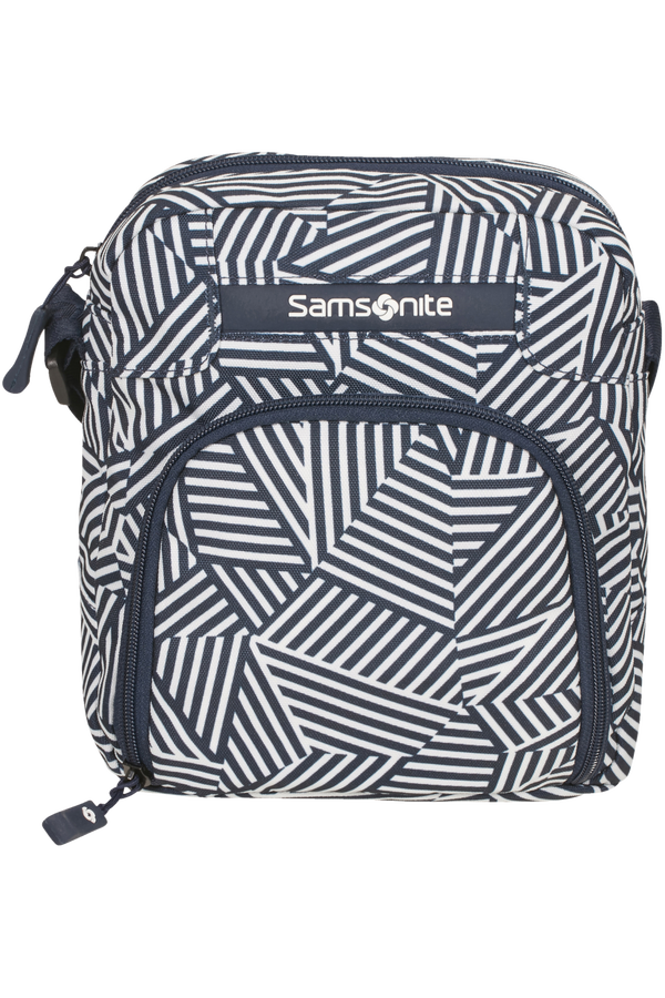 Samsonite Rewind Crossover  Navy Blue Stripes