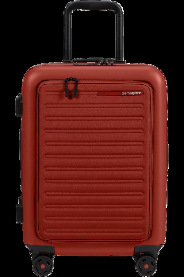 Samsonite Stackd Spinner Expandable Easy Access 55cm  Červená