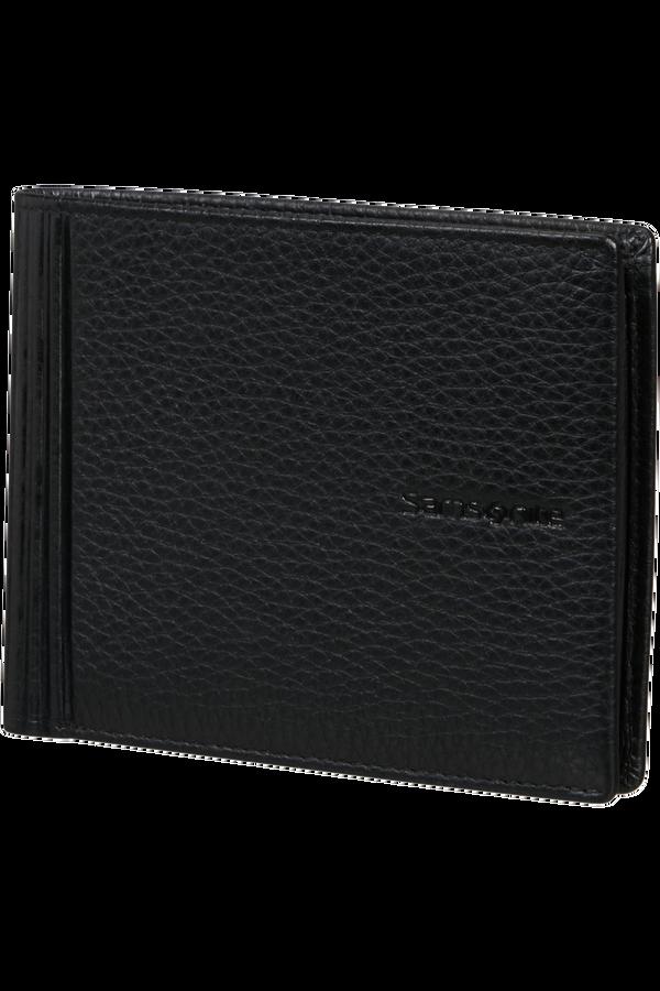Samsonite Double Leather Slg 015 - B 4CC+2C+C  Černá