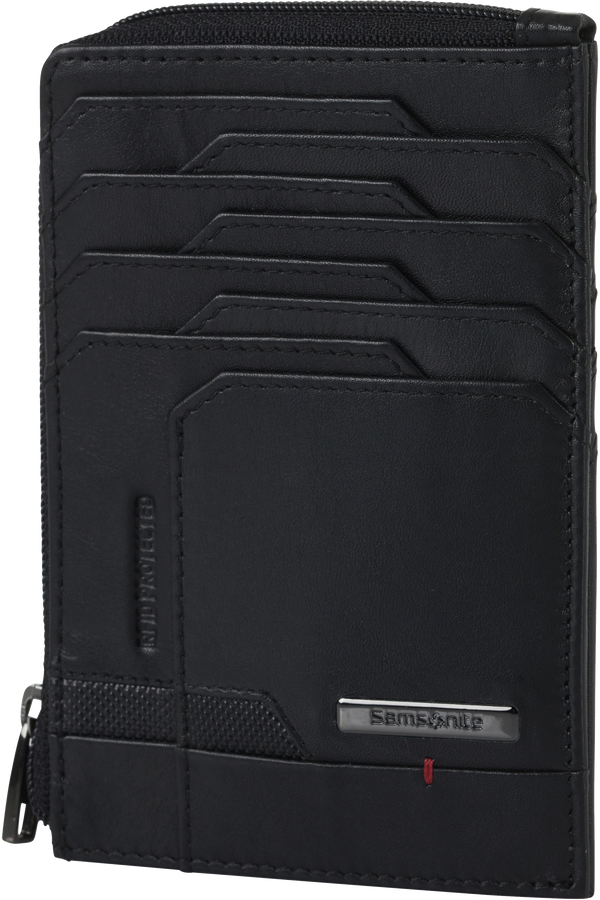 Samsonite Pro-Dlx 5 Slg 727-All in One Wallet Zip  Černá
