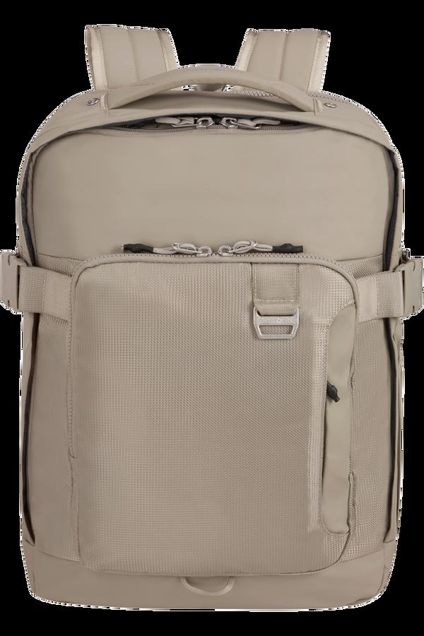 Samsonite Midtown Laptop Backpack Expandable L 15.6inch Písková