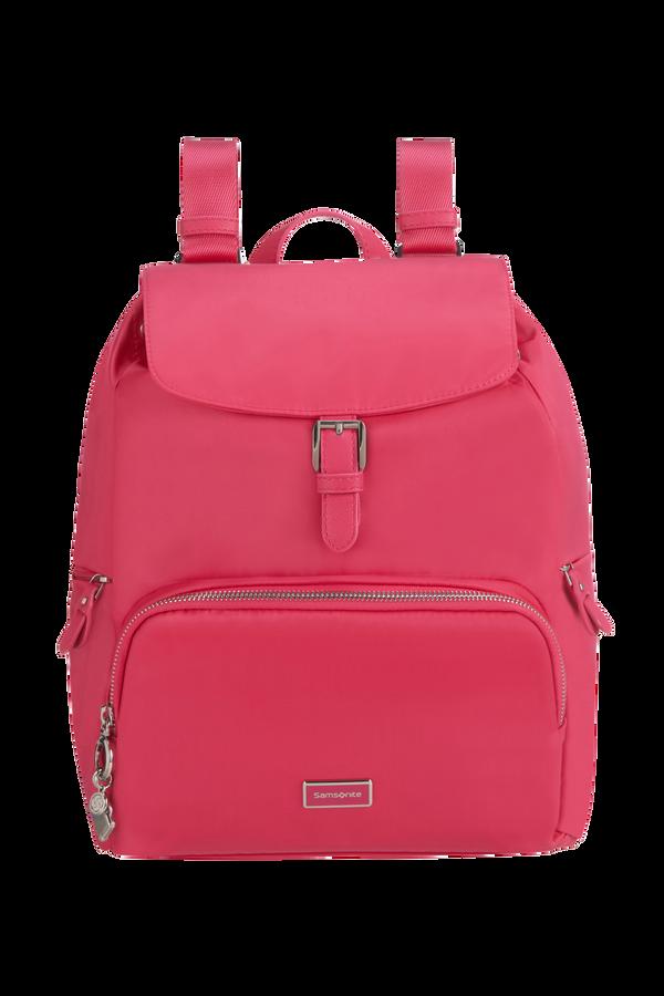 Samsonite Karissa 2.0 Backpack 3 Pockets 1 Buckle  Raspberry Pink