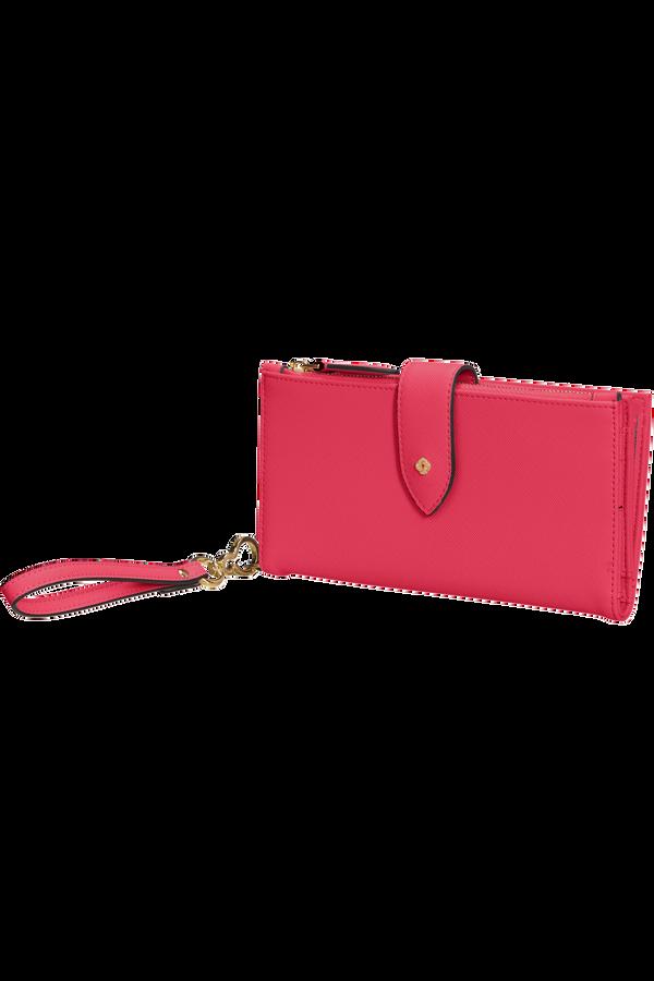 Samsonite Wavy Slg 339 - L W 14CC+Phone Pocket  Raspberry Rose