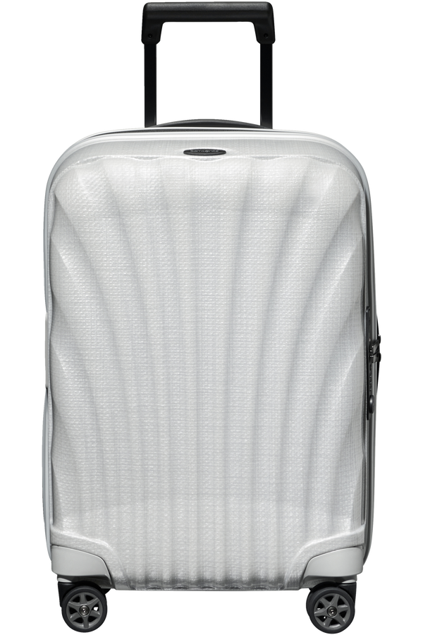 Samsonite C-Lite Spinner Expandable 55cm  Bílá
