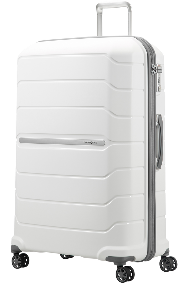 Samsonite Flux Spinner Expandable 81cm White