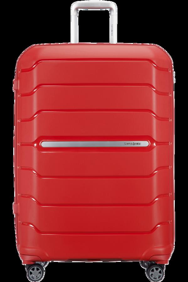 Samsonite Flux Spinner Expandable 75cm  Red