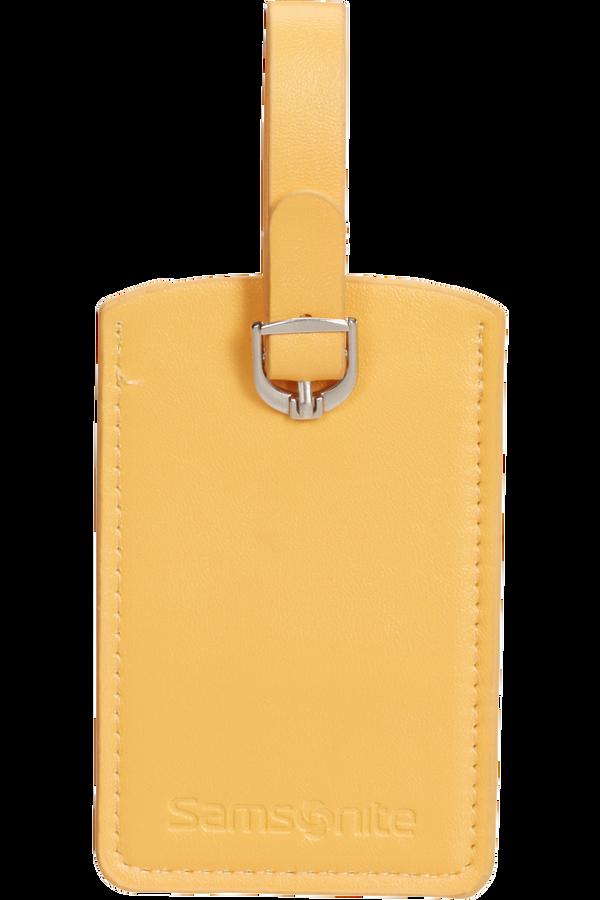 Samsonite Global Ta Rectangle Luggage Tag x2 Sunflower