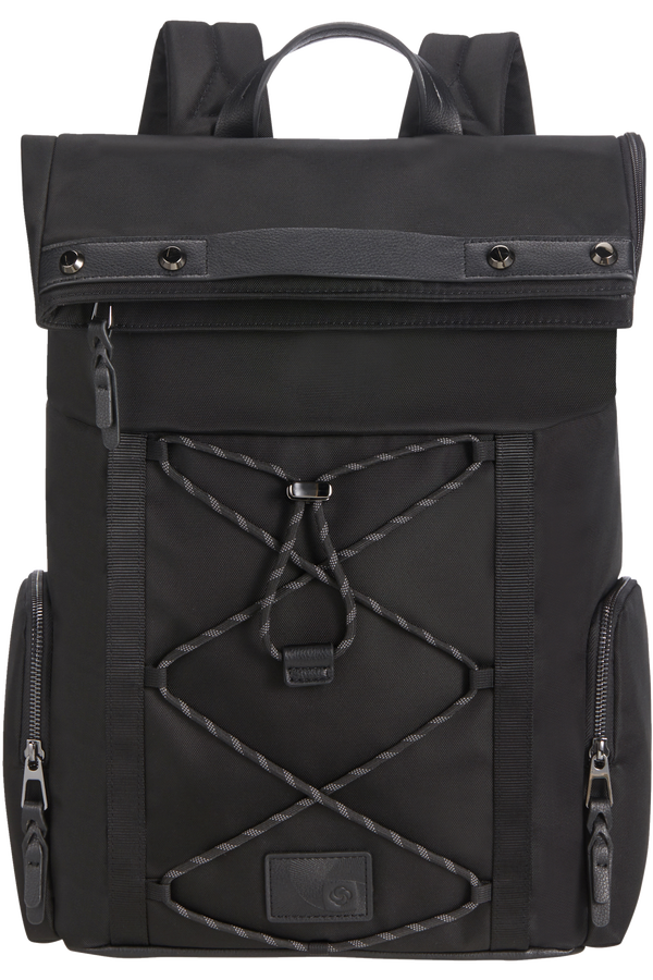Samsonite Yourban Backpack + Flap  15.6inch Černá