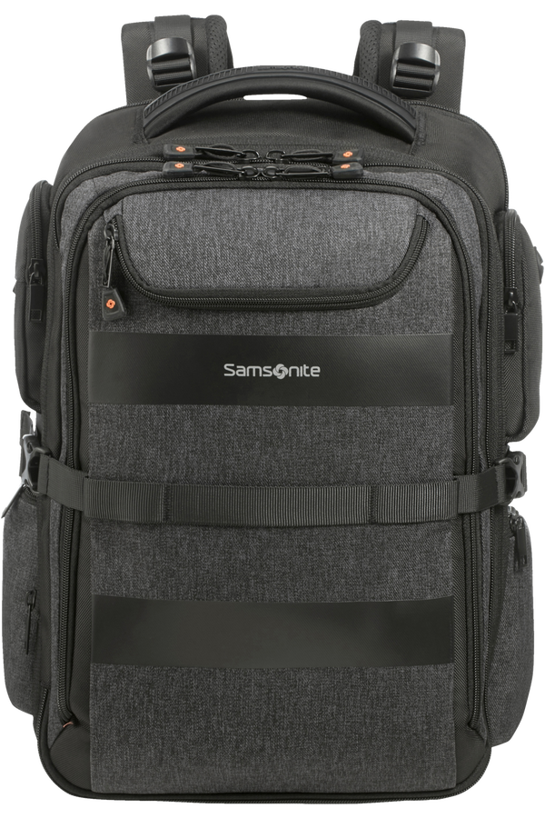 Samsonite Bleisure Backpack 15.6' Exp Overnight  Antracitová šedá