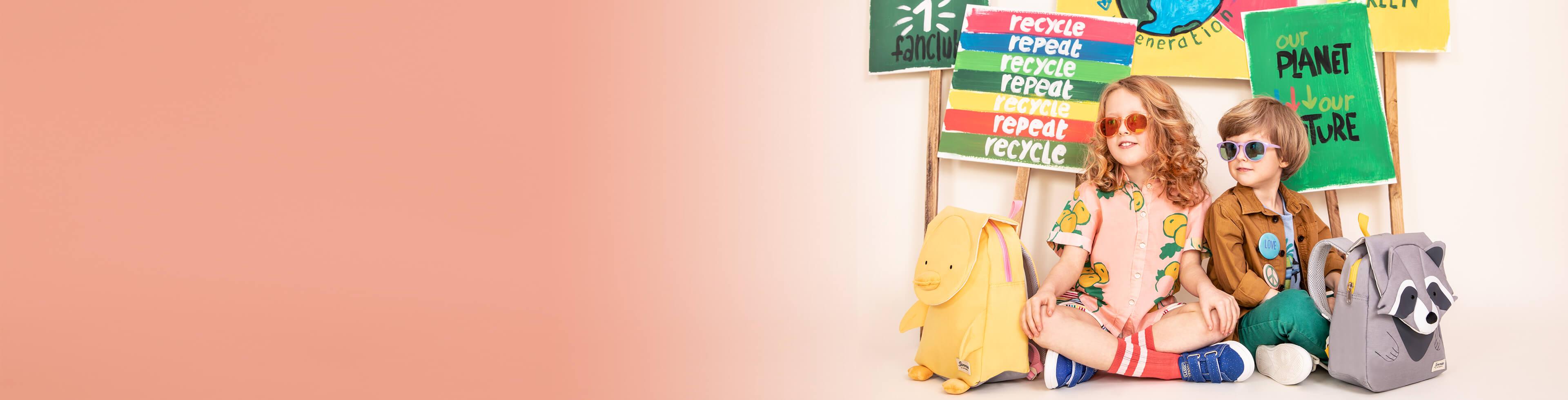 Ekologické tašky a kufre pre deti